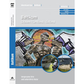 Motorradtour Baltikum DVD und GPS Daten für die eigene Tourplanung mit dem Motorrad