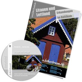 Motorradtour Litauen Lettland DVD gedruckte Tourstory und GPS Daten für die eigene Tourplanung mit dem Motorrad