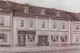 Das Haus um 1853