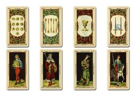 マドモアゼル ルノルマンの人生を占った2枚引きのカード