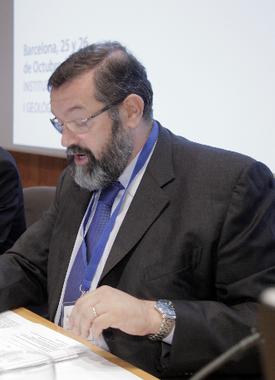 Xavier Font, Decano del Colegio de Ingenieros Técnicos de Obras Públicas de Cataluña