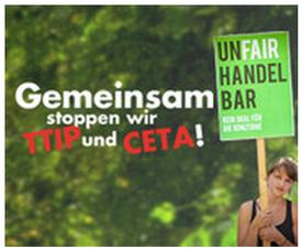 BUND - Europäische Bürgerinitiative: TTIP stoppen