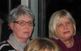 Frau Oppermann und Ulrike Stoffregen kümmern sich ab April um die Bewirtung im Clubhaus