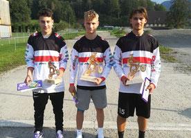 Andre Dutczak (3.), Bjarne Schedler (1.), Frederick Ender (2.)