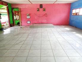 作業が完了した教室