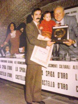 Premio  La Quercia d'oro Castello di Ferrara premia il Sen.Rolfi