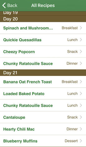 21 day vegan kickstart app