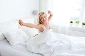 fit und vital, ausgeruht und voller Energie