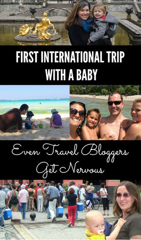 Where did some of the top family travel bloggers go on their first international trip with baby in tow? Read more at www.BabyCanTravel.com/blog