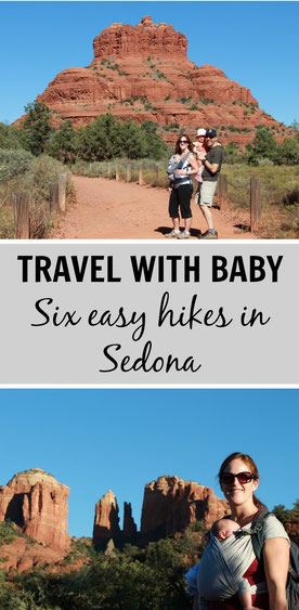 Sedona, Arizona is a great place for a family holiday. Here are 6 easy hikes to try. Read more at www.babycantravel.com/blog