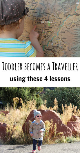 4 Lessons to Turn Toddler into a Traveller! Read more at www.babycantravel.com/blog.