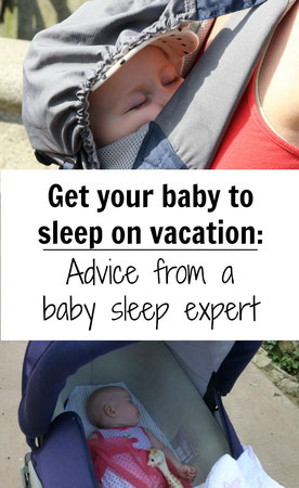 How to ensure your baby will sleep on vacation? We get your biggest questions answered from a sleep expert. Read more at www.babycantravel.com/blog.