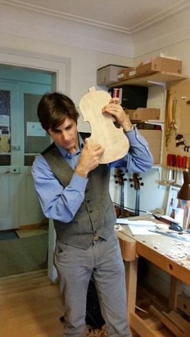 Das Gehör des Geigenbauers ist nur eine Komponente...