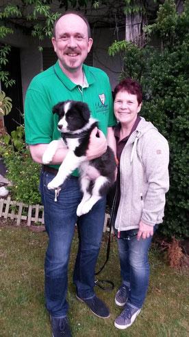 Oskar mit seiner neuen Familie