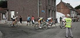 Mazenzele, De Sportvrienden, wielerwedstrijd, seingevers, Vlaams-Brabant, Pajottenland