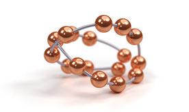 Darstellung des Kupferperlenballs