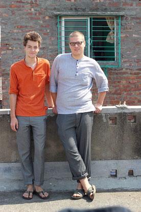 Lukas und Leon
