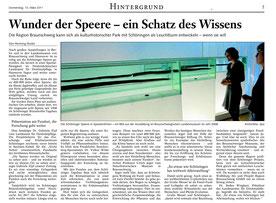 Braunschweiger Zeitung vom 10.03.2011