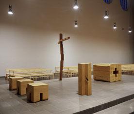 Klaus Simon, Objekte Altarinsel Heilig Kreuz