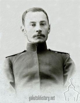 Николай Березкин в 1890 г.
