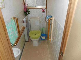 トイレの改修(和式トイレから洋式トイレへ)