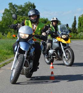 Motorradbegleitung