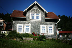 Haus am Bermer im Thüringer Wald.