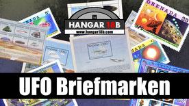 UFO Briefmarken