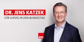 Das ist Jens Katzek. Bundestagskandidat.