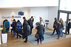 Eventfotografie auf einem Kongress in Osnabrück