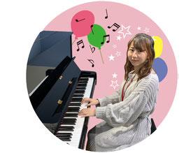 ピアノ教室の先生 河地里咲