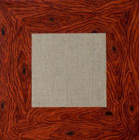 Cadre bois, 2014, Acrylic on canvas, 30 x 30 cm