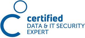 Logo certified Data und IT-Security Expert