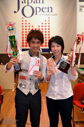 ジャパンオープン昨年度覇者:土方隼斗&河原千尋