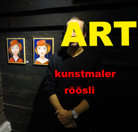 art lucerne , gallery , artist pictures, exhibitions , roeoesli ,