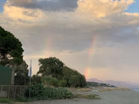 Und Doppel-Regenbogen