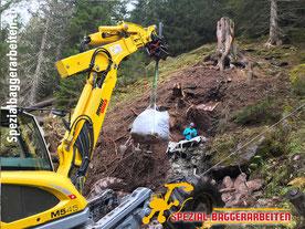 Spezial-Baggerarbeiten Adrian Krieg GmbH, Eschenbach Telefon 079 586 32 47