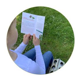 schlaubatz Sammelkiste - Mit Kindern die Natur entdecken - Jedes Begleitheft steckt voller Aha-Momente und Antworten auf Fragen wie: Können Schnecken pullern?