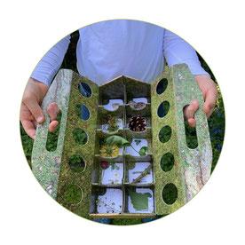 schlaubatz Sammelkiste - Mit Kindern die Natur entdecken - Mit schlaubatz gibt es keine Gewinner oder Verlierer - nur Entdecker