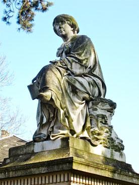 Statue de George Sand par Aimé Millet