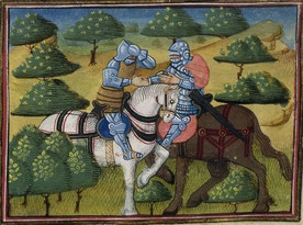 Monseigneur Gauvain et Hector des Mares