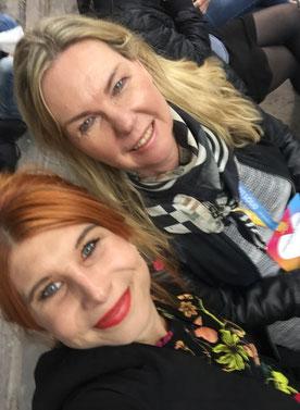 Selfie mit Carline Mohr auf der re:publica 2017