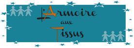 Armoire aux tissus Papier Caillou Ciseaux