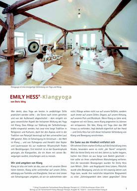 Emily Hess®-Klangyoga