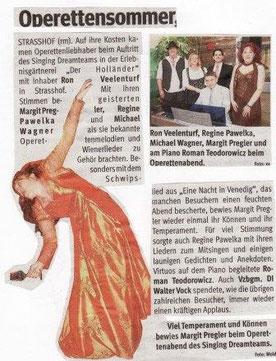 Strasshofer Operettensommer 2010