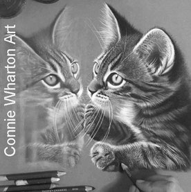 Connie Wharton Animal painter.