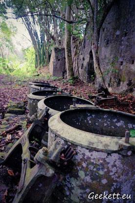 Vestiges d'usine sucrière - urbex Mayotte