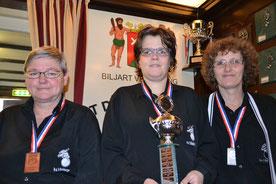 Joke Nuyten 3e, Danielle de Vos kampioen, Corrie Goossens 2e