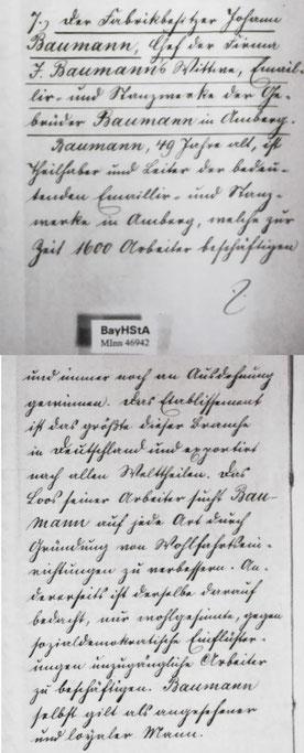 Ernennung Georg I zur Kommerzienrat [BayHSTA MINN 46942]