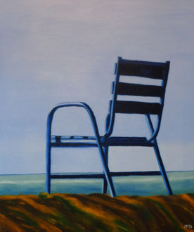 543 - chaise bleue - Promenade des Anglais-Nice, 2016